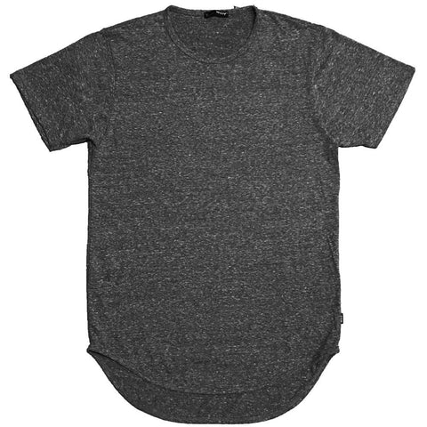 Charcoal Scallop Tee