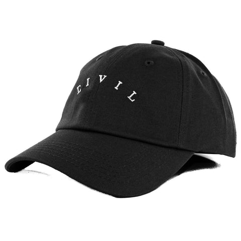 CIVIL CORE STRAPBACK -Black