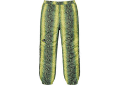 Supreme The North Face Snakeskin Taped Seam Pant- Green