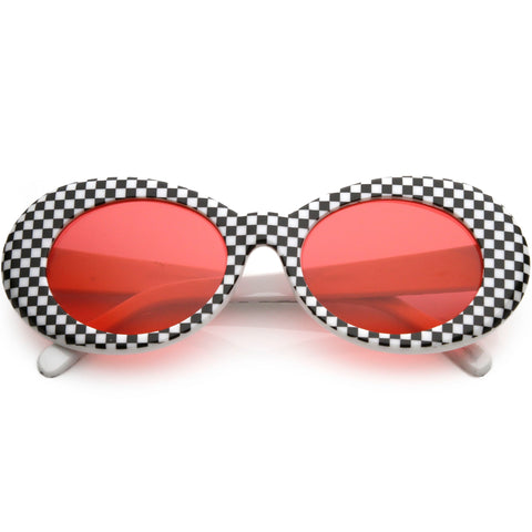 Checkered Clout Sunglasses