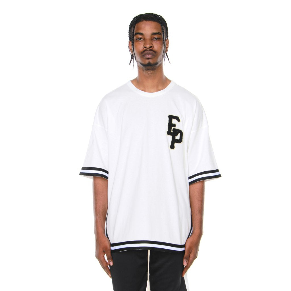 Baseball Tee- Off White