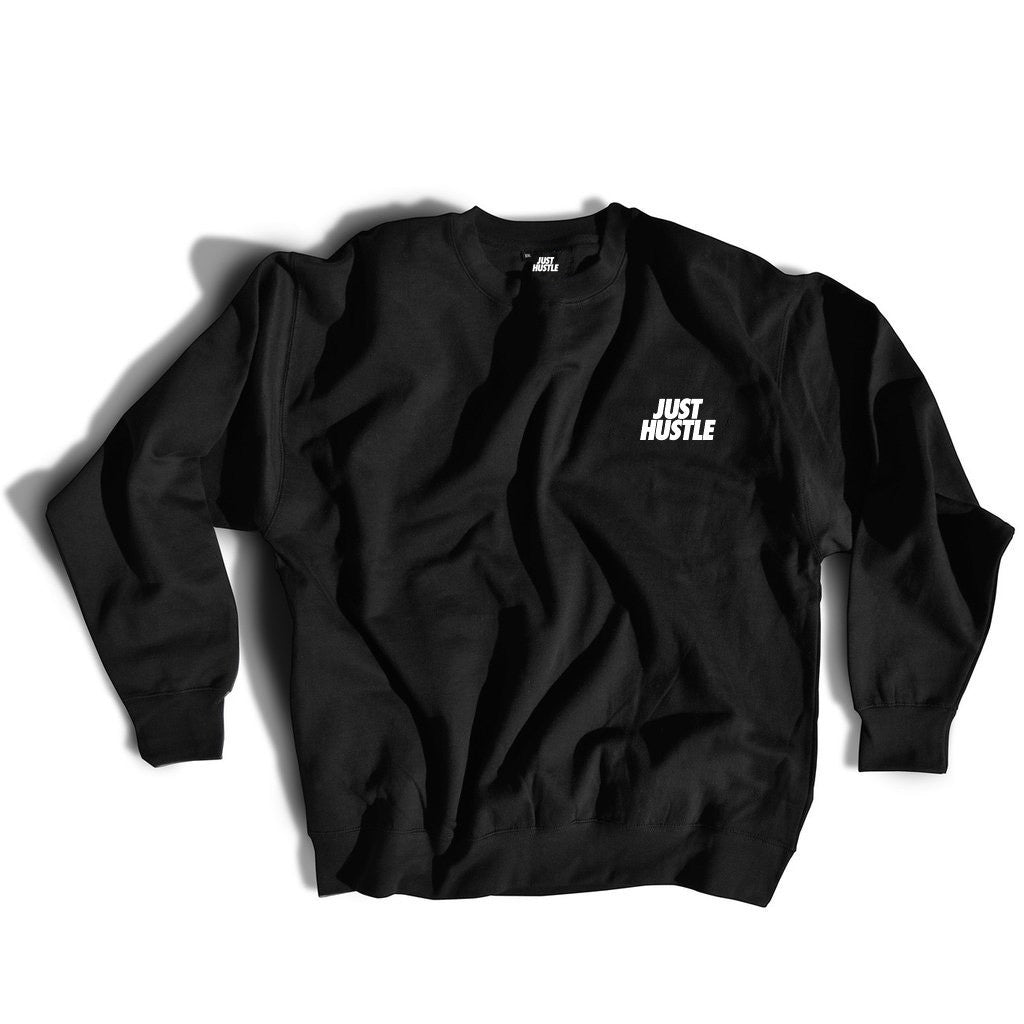 Just Hustle Repeat Crewneck