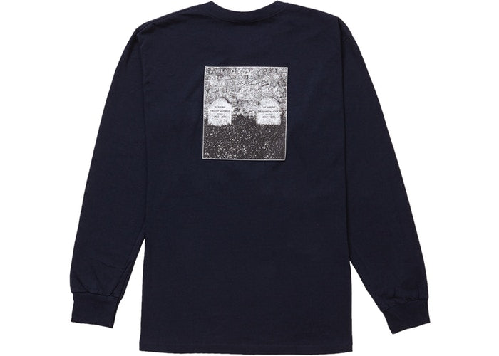 Supreme The Real Shit L/S Tee- Navy