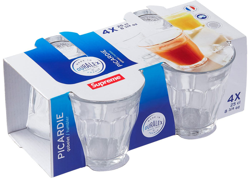 Supreme Duralex Glasses Cups (Set of 4)