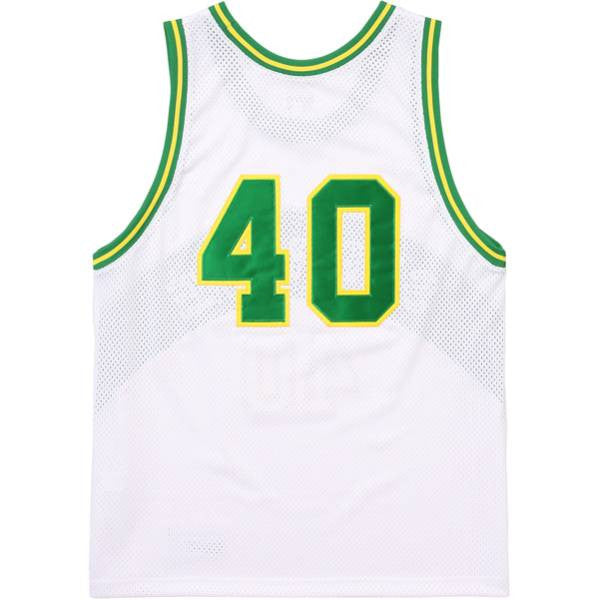 Supreme Curve Basketball Jersey White/Green