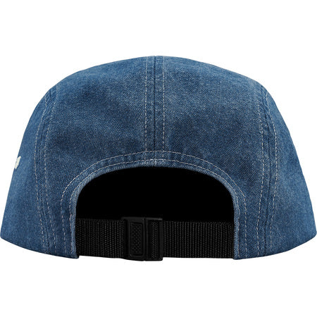 Supreme Worldwide Visor Tape Camp Cap- Denim