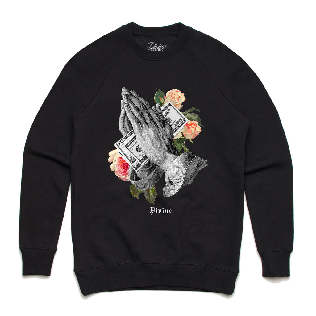 Divine Prayers Crewneck