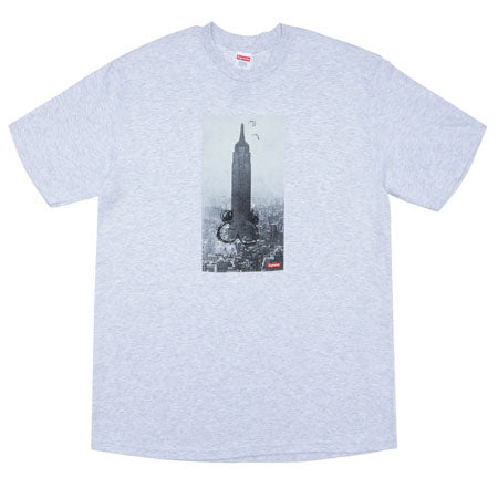 Supreme Mike Kelley The Empire State Building Tee- Ash Grey