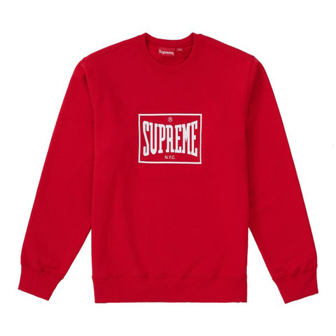 Supreme Warm Up Crewneck- Red