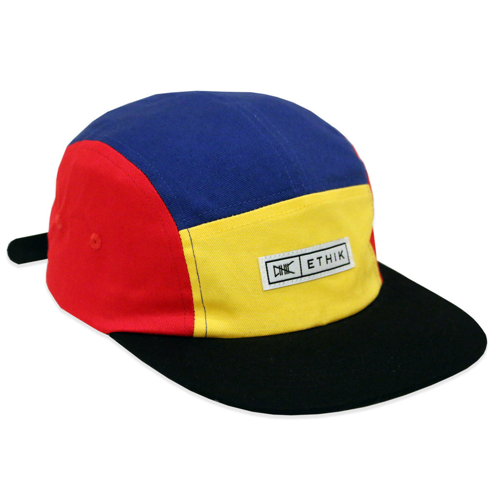Ethik OG 5 Panel strapback - primary colors