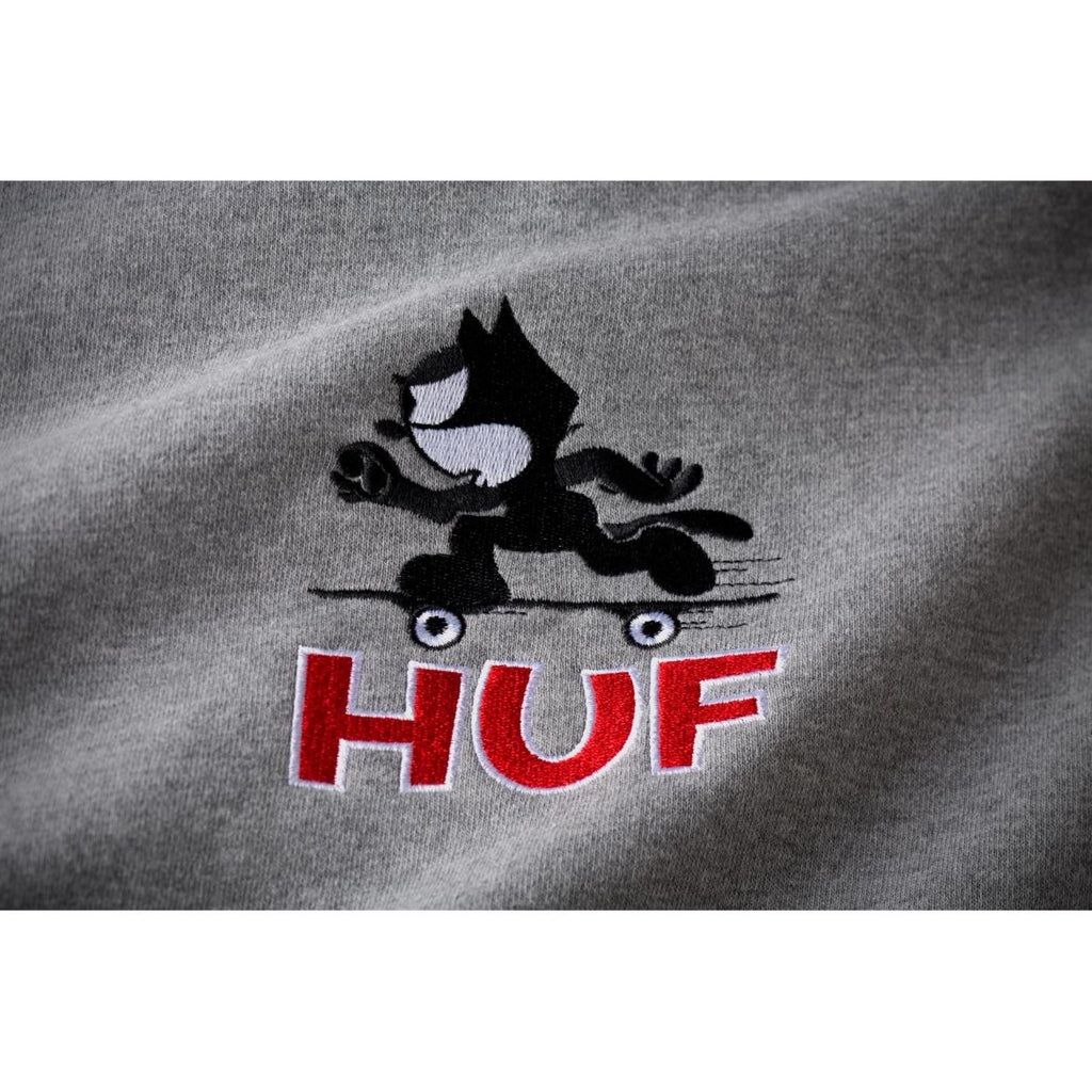HUF X FELIX SKATE PULLOVER HOODIE- Athletic Grey