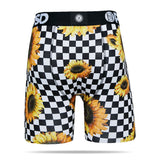 Checker Sunflower Boxers