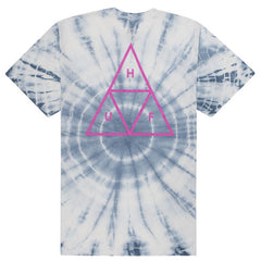 Washed Triple Triangle Tee -white