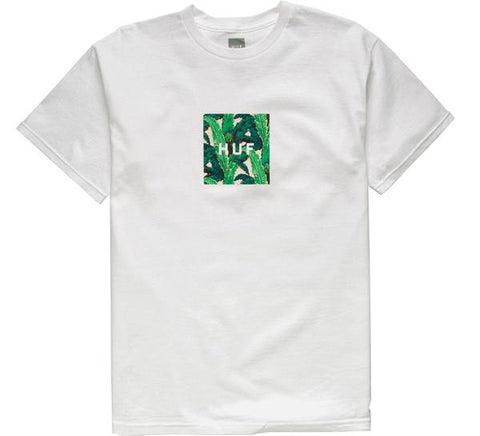 HUF Foliage Box Tee- White
