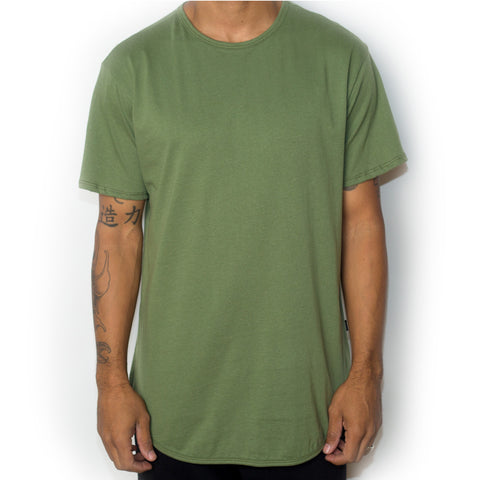 Scallop Tee - Green