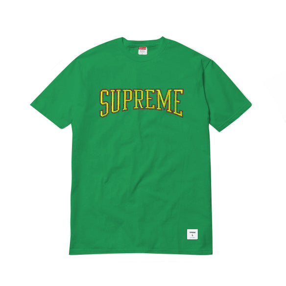 SUPREME Dotted Arc Tee -kelly green