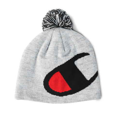 Champion Life™ Knit Pom Hat (HEATHER GREY)
