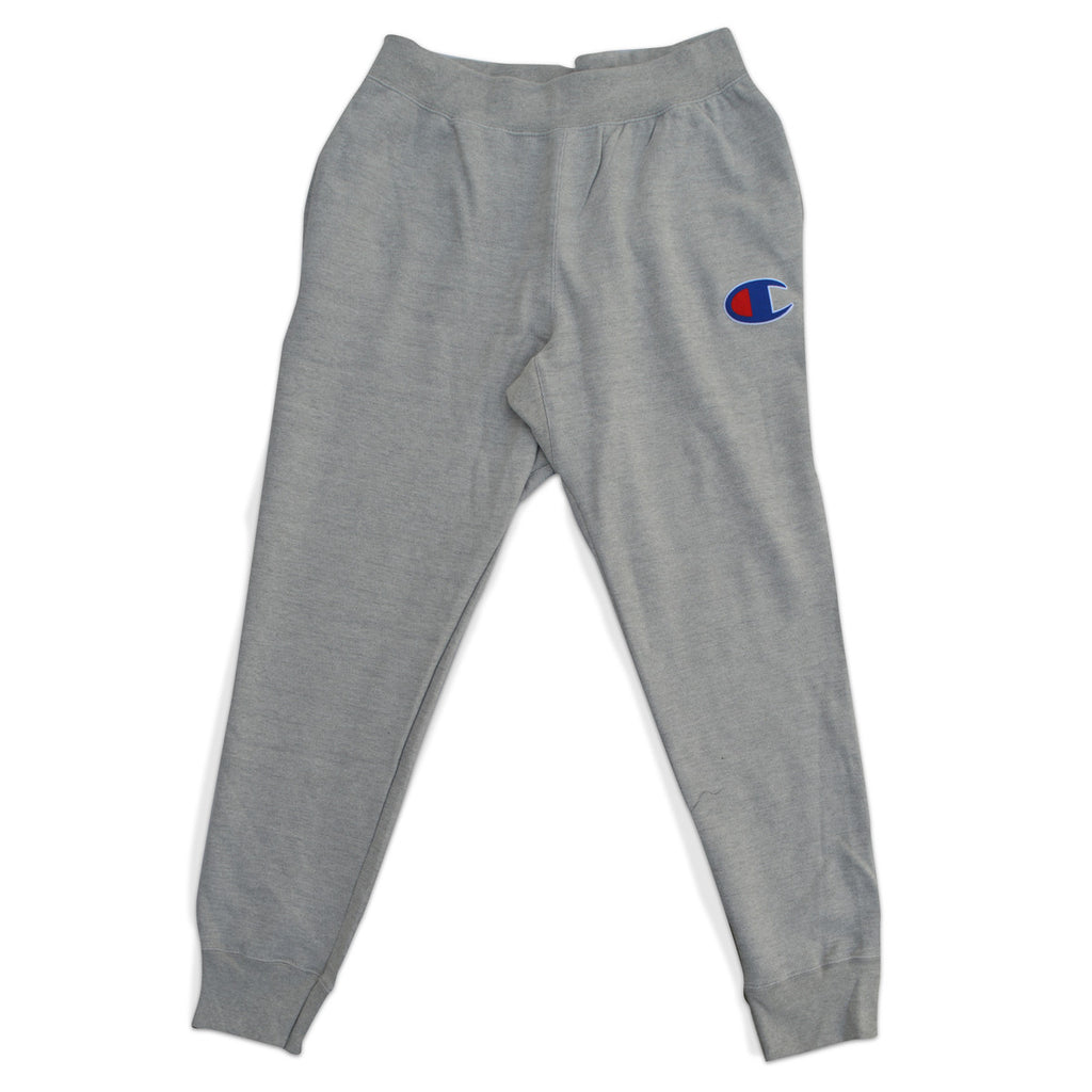"Champion Men's Jogger Pants With Baseball ""C"" (gray)"