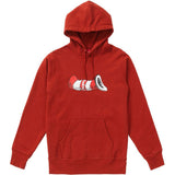 Supreme Cat in the Hat Hoodie- Rust