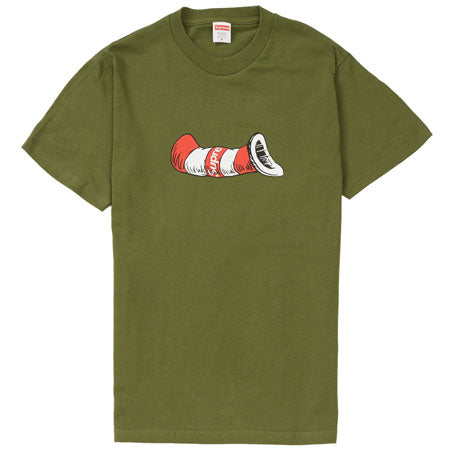df0a8ed3 Supreme - Supreme Cat in the Hat Tee- Olive – Streetwear Official