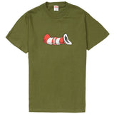 Supreme Cat in the Hat Tee- Olive