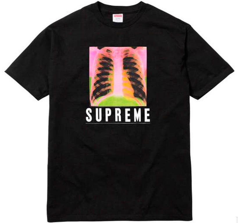 Supreme X Ray Tee- Black