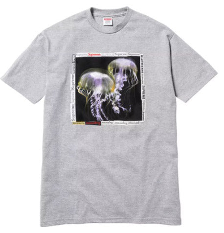 Supreme Jellyfish Tee- Heather Grey