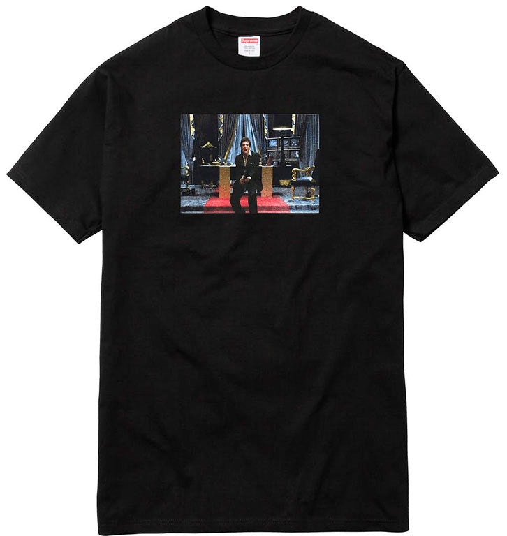 Supreme Scarface Friend Tee- Black
