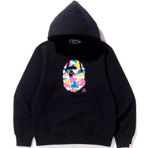 Bape x Anti Social Social Club LA Exclusive City Camo Pullover Hoodie- Black/Multi