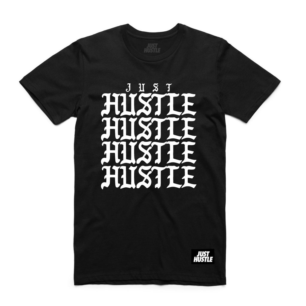 Just Hustle Repeat tee