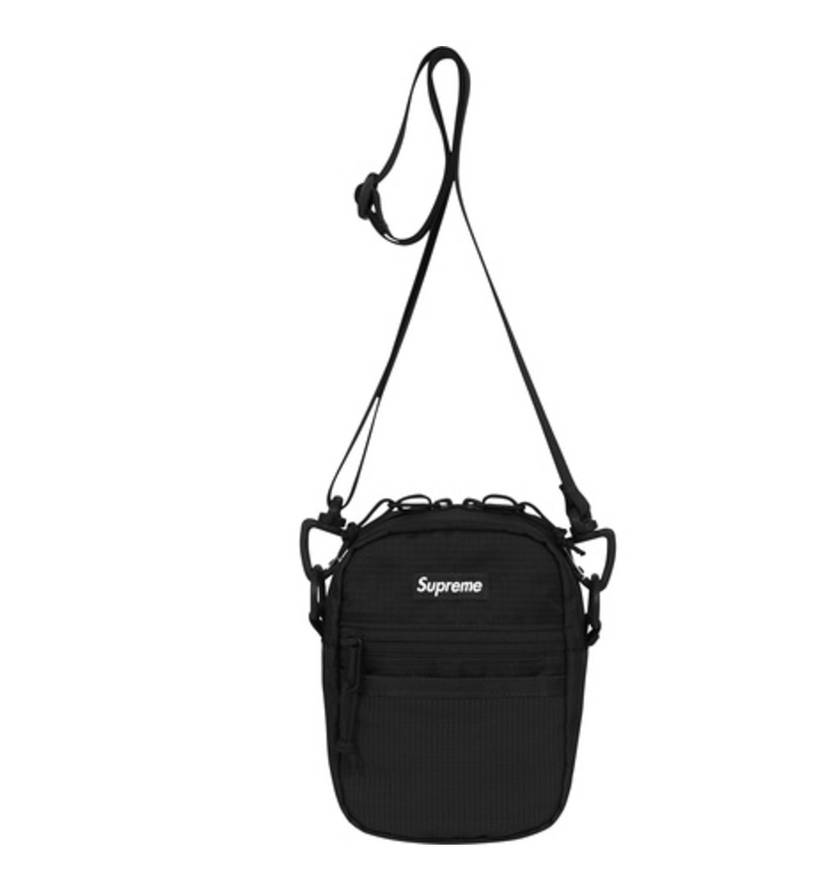 Supreme SS17 Small Shoulder Bag- Black