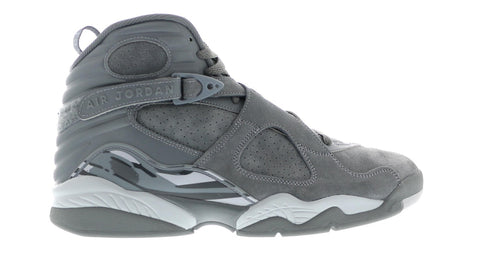 Jordan 8 Retro Cool Grey- 8.5