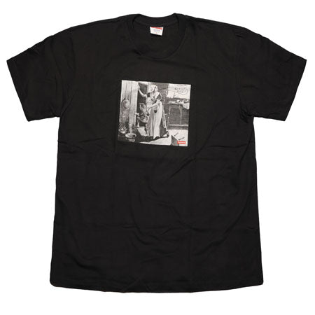 Supreme Mike Kelley Hiding From Indians Tee- Black