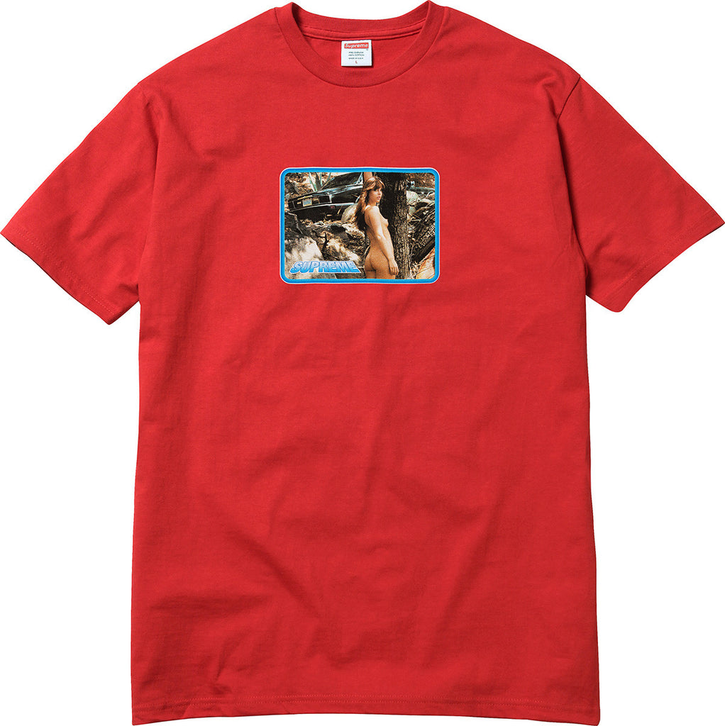 Supreme Larry Clark Girl Tee Street Wear Official