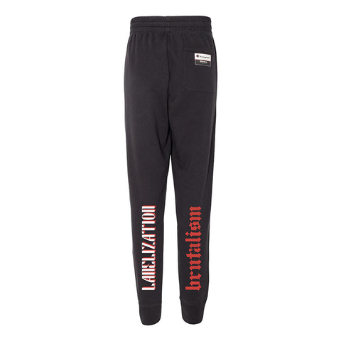 Labelization Joggers- Black