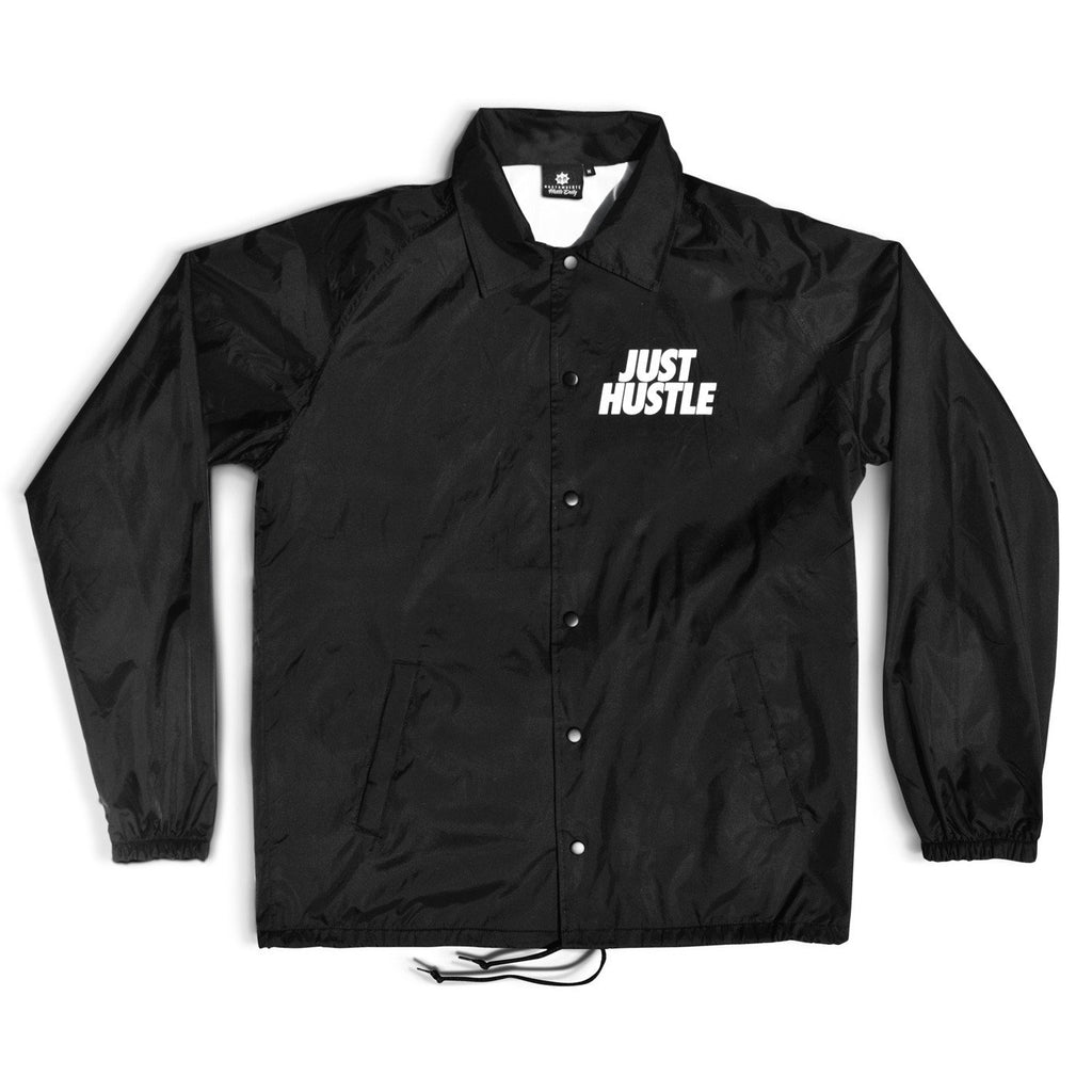 Just Hustle Coaches Jacket