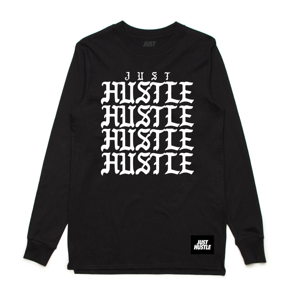 Just Hustle Repeat Longsleeve