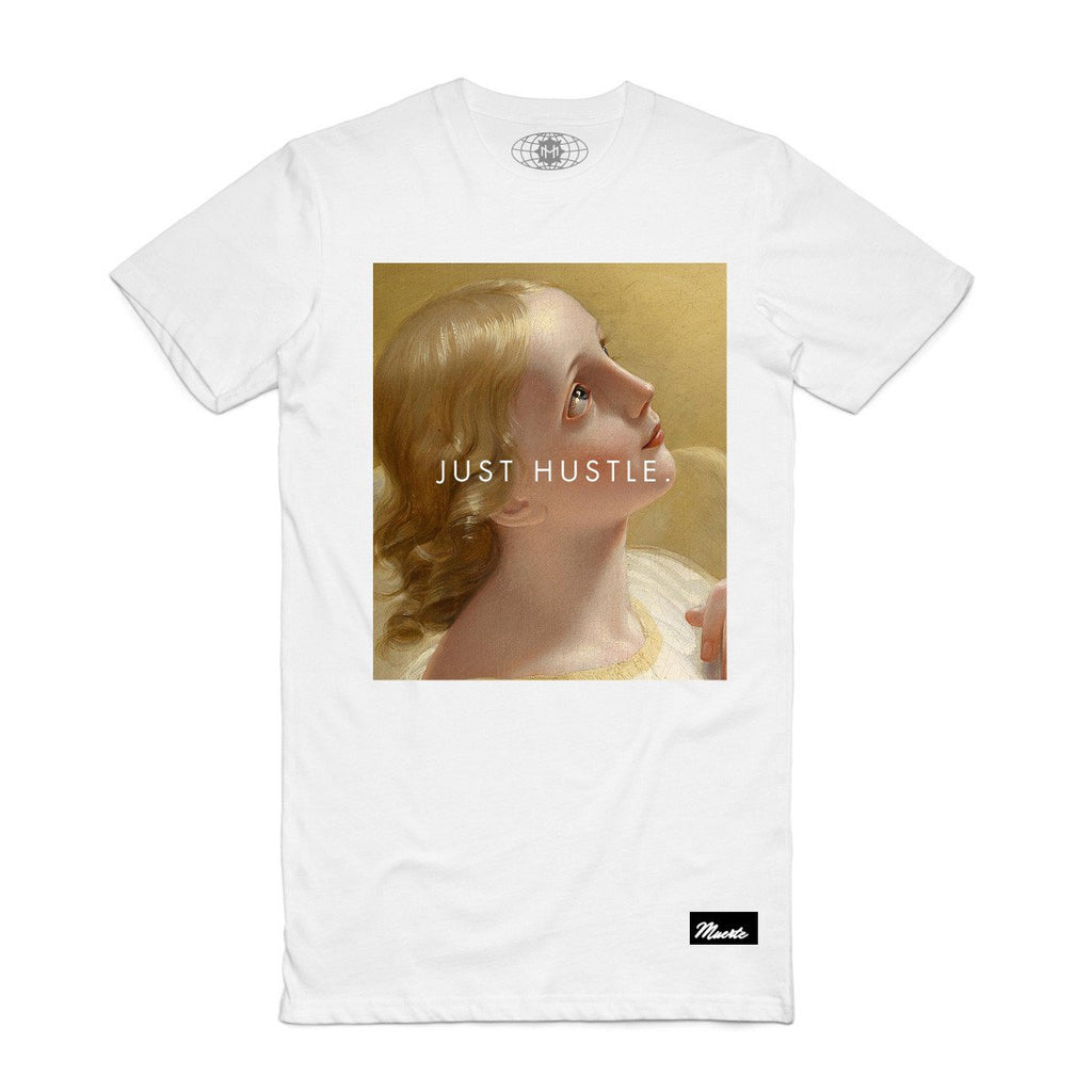 Just Hustle Renaissance Tee (White)