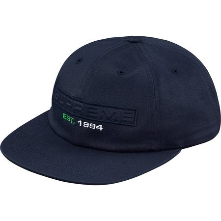 Supreme Embossed Logo 6-Panel- Navy