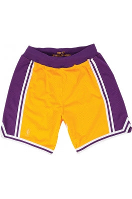 Mitchell & Ness LOS ANGELES LAKERS Authentic Shorts