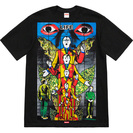 Supreme Gilbert & George Life Tee- Black