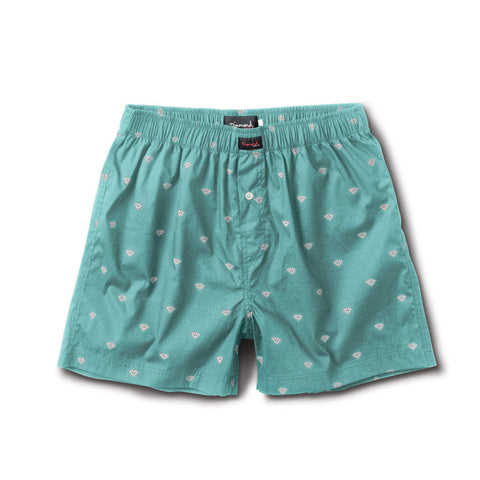 BRILLIANT BOXERS WOVEN -Diamond Blue