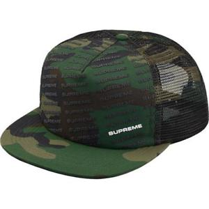 Supreme Repeat Mesh Back 5-Panel- Woodland Camo