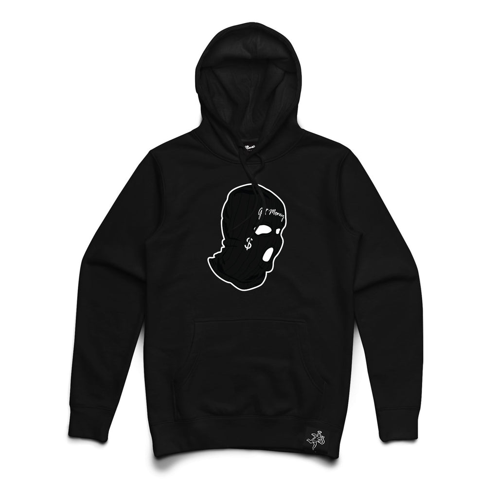 AJ11 GET MONEY MASK CHENILLE PATCH Hoodie