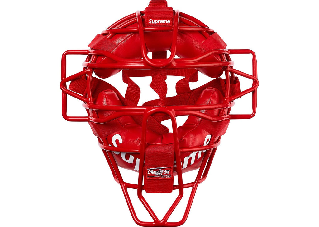 Supreme Rawlings Catcher's Mask- Red