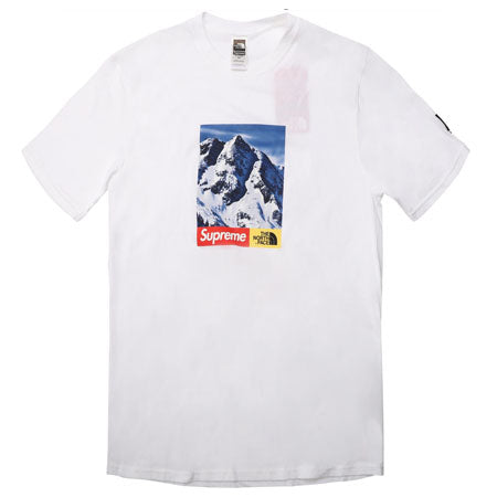 Supreme The North Face Mountain Tee- White