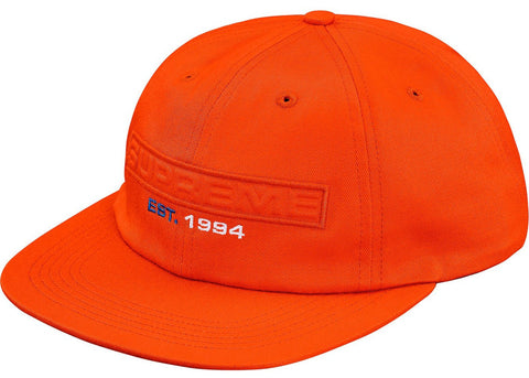 Supreme Embossed Logo 6-Panel- Orange