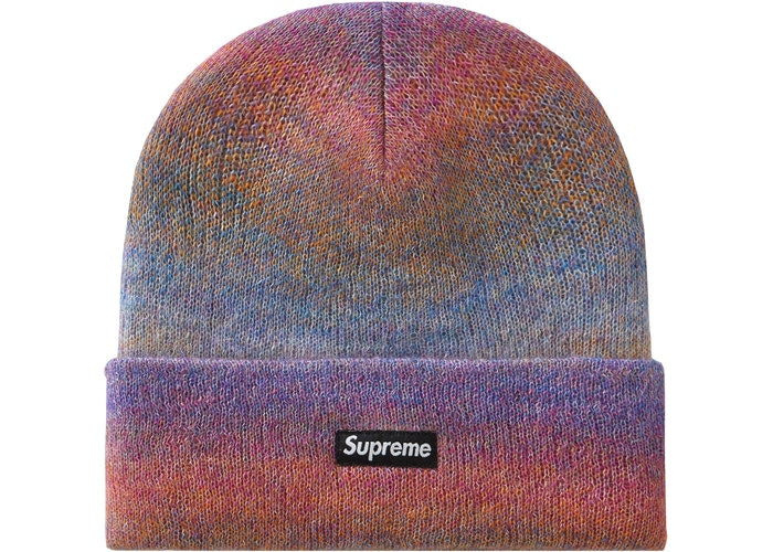 Supreme Mohair Beanie FW19- Mixed Pink