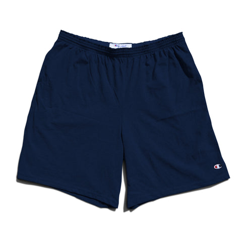 Champion Cotton Jersey Shorts -Navy