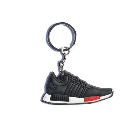 The Adidas NMD_R1 black/red